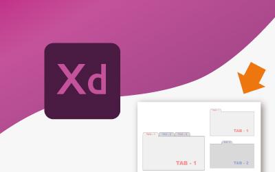 Xdでタブを作る。